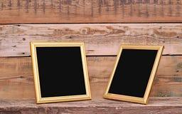 Two blank photo frame Stock Photos
