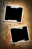 Two blank photos Royalty Free Stock Photography