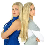 Two blondes Stock Photo