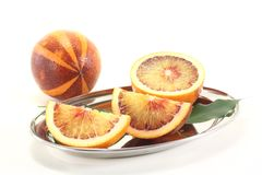 Two Blood orange Stock Images