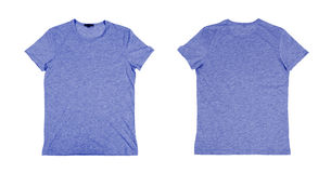 Two blue tshirt Stock Images