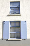 Two blue windows Royalty Free Stock Photos