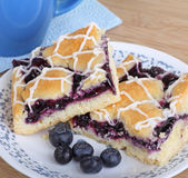 Two Blueberry Bars Stock Images