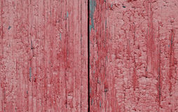 Two boards painted in red Royalty Free Stock Photo