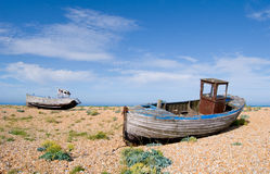 Two boats Royalty Free Stock Images