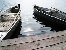 Boats on the lake (5) Royalty Free Stock Image