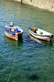 Two Boats. Royalty Free Stock Photography
