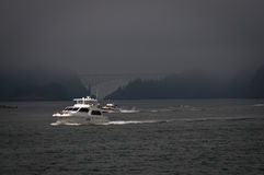 Two boats near Deception pass Stock Photo