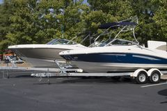 Free Two Boats On Trailers Stock Images - 3862904