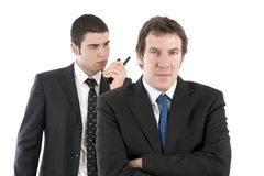 Two Bodyguards Royalty Free Stock Photography