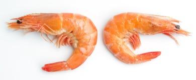 Two Boiled shrimp Stock Photos