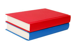 Two book isolated Royalty Free Stock Photography