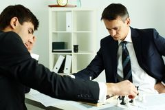 Two boss business Royalty Free Stock Photography