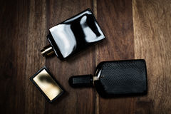 Two bottle of perfume Royalty Free Stock Images