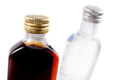 Two bottles Royalty Free Stock Photos