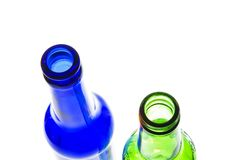 Two bottles Stock Image