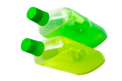 Two bottles of cleaner Royalty Free Stock Image