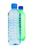Two bottles full of water Stock Photography