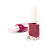 Two bottles of nail polish Stock Photography