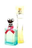 Two Bottles Of Perfume Stock Photo