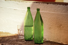 Two bottles Royalty Free Stock Images