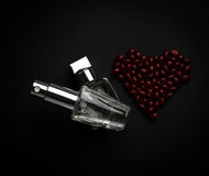 Two bottles of perfume Royalty Free Stock Photography