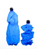 Two bottles of plastic Stock Images