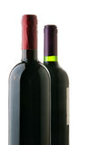 Two bottles of red wine Stock Photography
