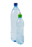 Two bottles with water Stock Images