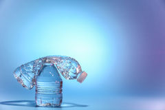 Two bottles of water Royalty Free Stock Image