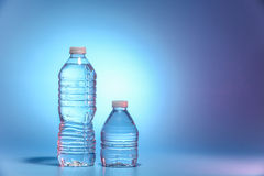 Two bottles of water Royalty Free Stock Photo