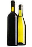Two bottles of wine Stock Photos