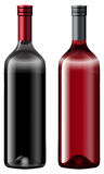 Two bottles of wine Royalty Free Stock Photography