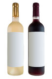 Two bottles of wine Royalty Free Stock Images