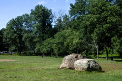 Two Boulders Royalty Free Stock Photography