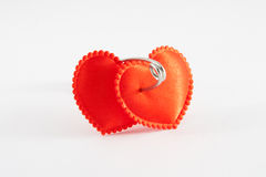 Two bound hearts Royalty Free Stock Photos