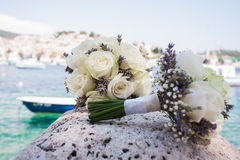 Two bouquets Royalty Free Stock Photography