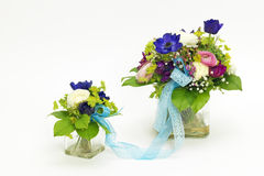 Two bouquets for mother and child Stock Photography