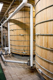 Two Bourbon Mash Tank Stock Image