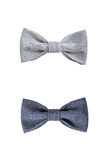 Two bow ties isolated on white background Stock Image
