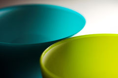 Two bowls Stock Photography