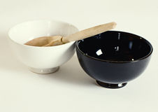 Two bowls. Stock Image