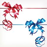 Two bows Royalty Free Stock Images