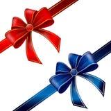 Two bows Stock Photos