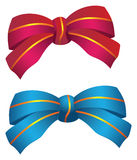 Two bows Stock Photos