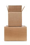 Two boxes Royalty Free Stock Photos