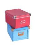 Two Boxes Stock Photos