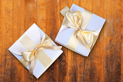 Two boxes Royalty Free Stock Images