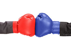 Two boxing gloves Royalty Free Stock Photo