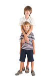 Two boys, two brothers Royalty Free Stock Photos